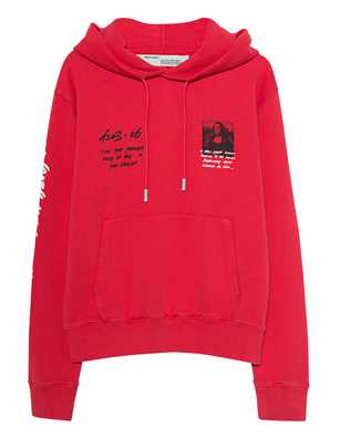 OFF-WHITE C/O VIRGIL ABLOH Mona Lisa Red