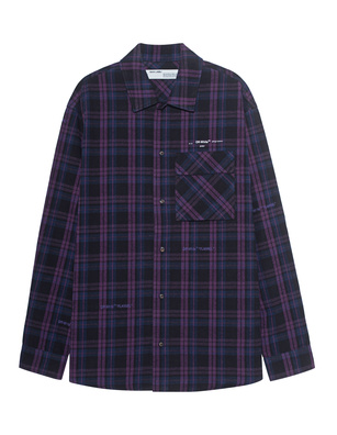 OFF-WHITE C/O VIRGIL ABLOH Flannel Check