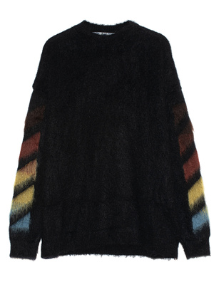 OFF-WHITE C/O VIRGIL ABLOH Mohair DIAG Brushed Black
