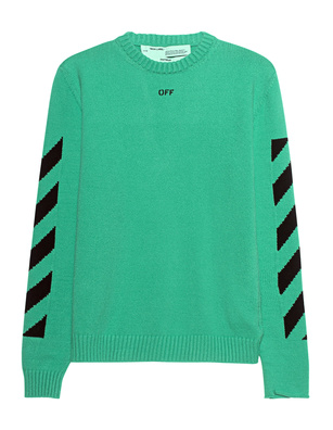 OFF-WHITE C/O VIRGIL ABLOH Knit Diag Mint Green