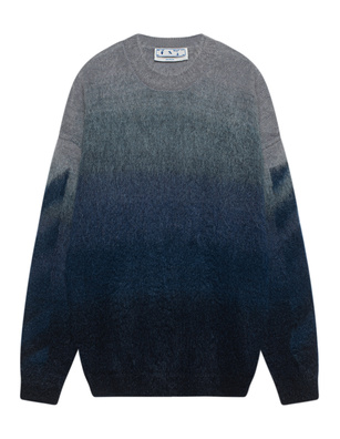 OFF-WHITE C/O VIRGIL ABLOH DIAG Brushed Logo Blue
