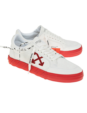 OFF-WHITE C/O VIRGIL ABLOH Suede Low Vulc White