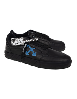OFF-WHITE C/O VIRGIL ABLOH Low Vulcanized Nappa Leather Black