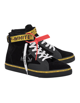 OFF-WHITE C/O VIRGIL ABLOH Vulc Mid Skate Black