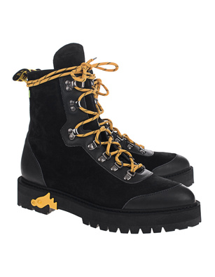 OFF-WHITE C/O VIRGIL ABLOH Hiking Boots Black
