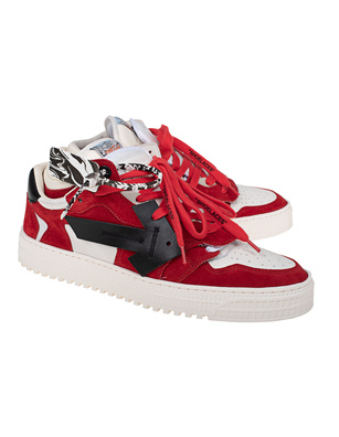 OFF-WHITE C/O VIRGIL ABLOH 3.0 Off-Court Low Cow Suede Red