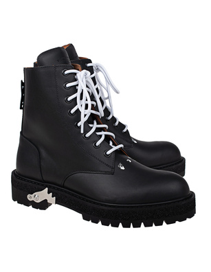 OFF-WHITE C/O VIRGIL ABLOH Lace Up Calf Leather Black