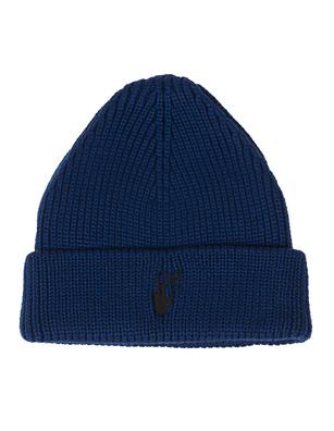 OFF-WHITE C/O VIRGIL ABLOH Hand Off Wool Blue