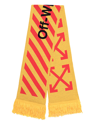 OFF-WHITE C/O VIRGIL ABLOH Arrows Scarf Yellow