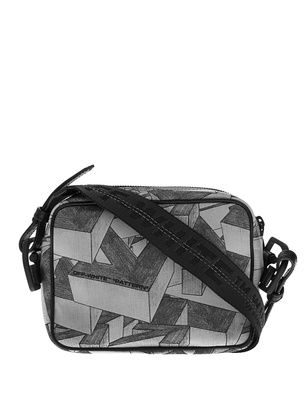 OFF-WHITE C/O VIRGIL ABLOH Crossbody Arrows Pattern Grey
