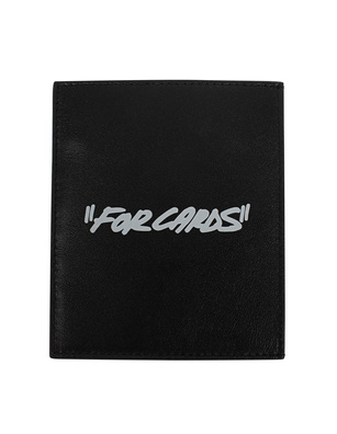 OFF-WHITE C/O VIRGIL ABLOH Cardholder Quote Black