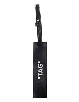 OFF-WHITE C/O VIRGIL ABLOH Travel Tag Black