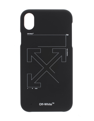 OFF-WHITE C/O VIRGIL ABLOH iPhone X Unfinished Black