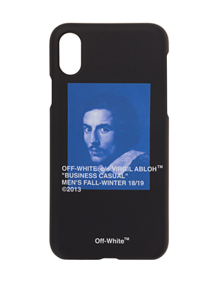 OFF-WHITE C/O VIRGIL ABLOH iPhone X Bernini Black