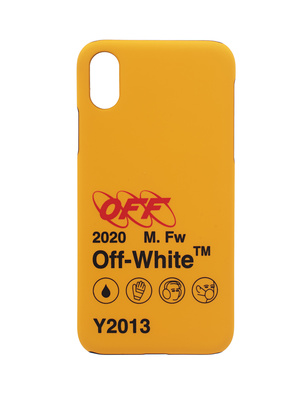 OFF-WHITE C/O VIRGIL ABLOH iPhone X Industrial Y2013 Yellow