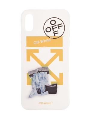 OFF-WHITE C/O VIRGIL ABLOH iPhone X Iceman Yellow