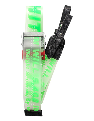 OFF-WHITE C/O VIRGIL ABLOH Strap PVC Green
