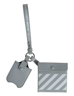 OFF-WHITE C/O VIRGIL ABLOH Safety Kit DIAG Leather Grey