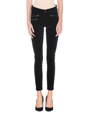 AG Jeans Legging Ankle Moto Velvet Black
