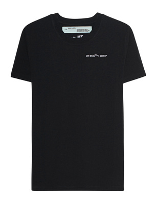 OFF-WHITE C/O VIRGIL ABLOH Quotes Casual Black