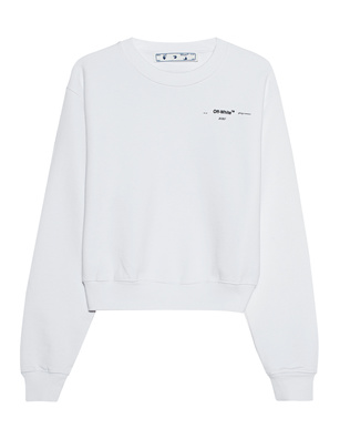 OFF-WHITE C/O VIRGIL ABLOH Puzzle Arrow Crop White