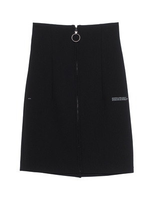 OFF-WHITE C/O VIRGIL ABLOH High Waist Zipper Black