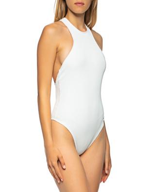 OFF-WHITE C/O VIRGIL ABLOH Logo Swimsuit White