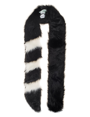 OFF-WHITE C/O VIRGIL ABLOH Fake Fur Black