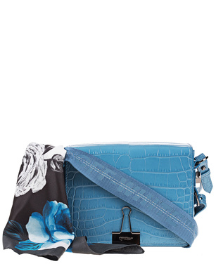 OFF-WHITE C/O VIRGIL ABLOH Cocco Flap Blue