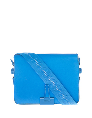 OFF-WHITE C/O VIRGIL ABLOH Flap Bag Blue