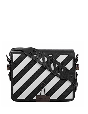 OFF-WHITE C/O VIRGIL ABLOH Diag Flap Bag Black