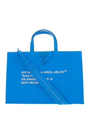 OFF-WHITE C/O VIRGIL ABLOH Box Bag Medium Blue