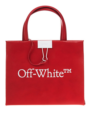 OFF-WHITE C/O VIRGIL ABLOH Box Bag Mini Red