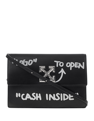 OFF-WHITE C/O VIRGIL ABLOH Jitney 1.0 Cash Inside Black