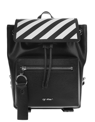 OFF-WHITE C/O VIRGIL ABLOH Backpack Diag Mini Black