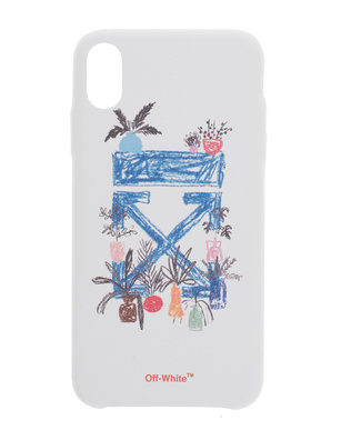 OFF-WHITE C/O VIRGIL ABLOH iPhone XS Max Graft Arrow White