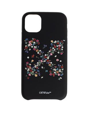 OFF-WHITE C/O VIRGIL ABLOH iPhone 11 Flowers Black