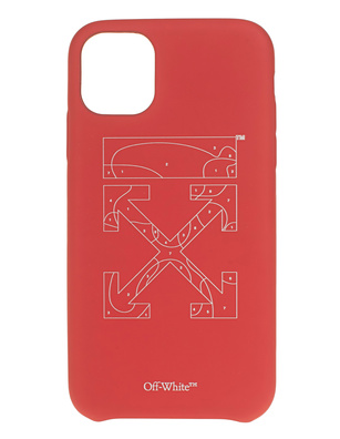 OFF-WHITE C/O VIRGIL ABLOH Puzzle Iphone 11 Red