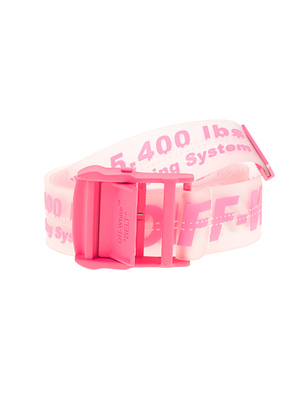 OFF-WHITE C/O VIRGIL ABLOH Rubber Industrial Transparent Pink