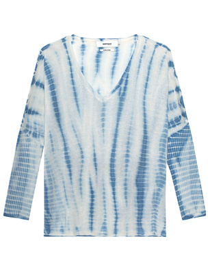 NOTSHY Cashmere Cruise Batik Blue