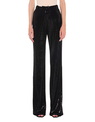 Plein Sud Sequin Wide Sparkling Black