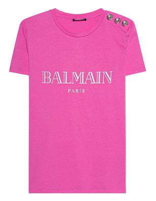 BALMAIN Emblem Pink