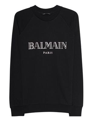 BALMAIN Label Black