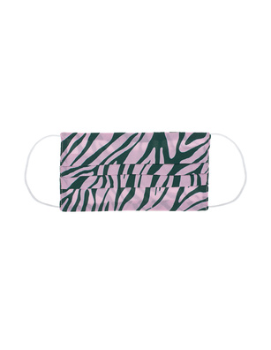 JADICTED Face Mask Silk Zebra Pink