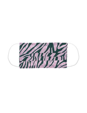 JADICTED Face Mask Silk Zebra Pink