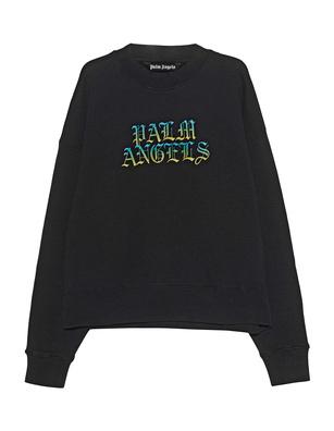 Palm Angels Hue Gothic Logo Black