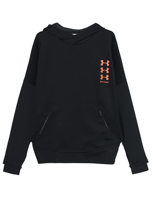 Palm Angels Under Armour Edition Loose Hoodie Black