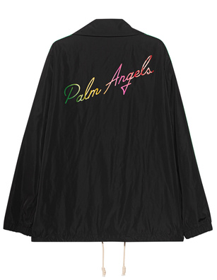 Palm Angels Miami Logo Black
