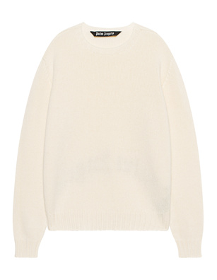 Palm Angels Curved Rec Logo Off White
