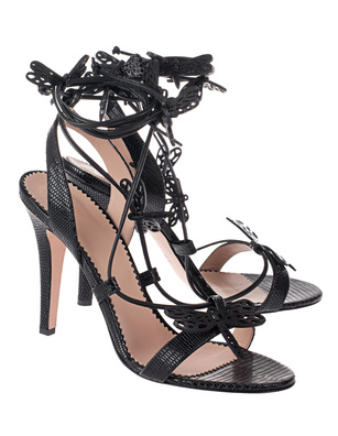 RED VALENTINO Dragonfilies Heel Black